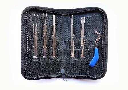 klom tools piece car pick set